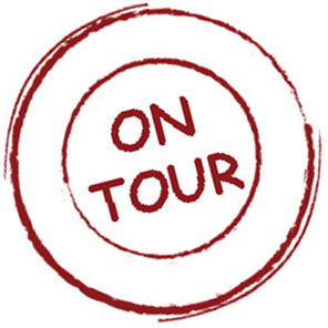 On Tour Stamp