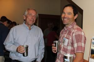 Oregon Natural Desert Association's festival attendees smiling about their Klean Kanteen stainless steel pint cups!