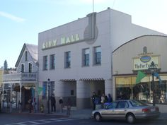 Nevada City City Hall building